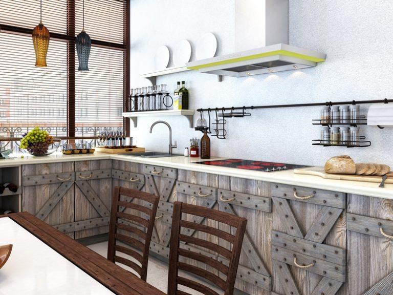 Кухня из массива сосны в современном стиле WEEKEND