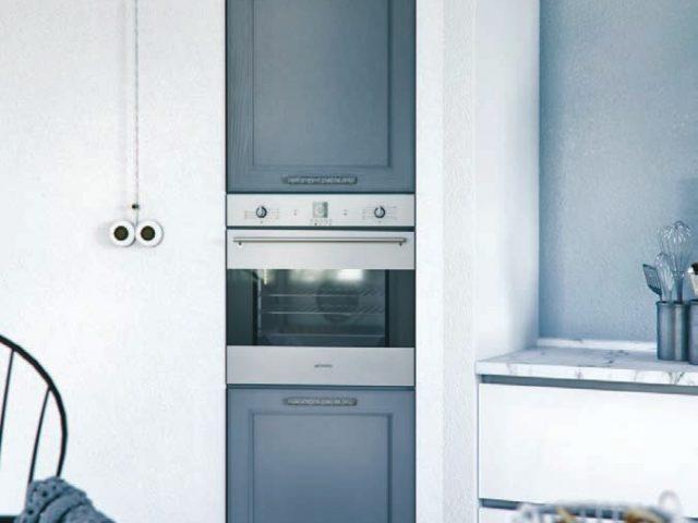 Светлая угловая кухня из массива ясеня «АННЕТТА»