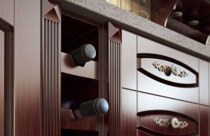 Классический кухонный гарнитур PREMIER из массива дерева
