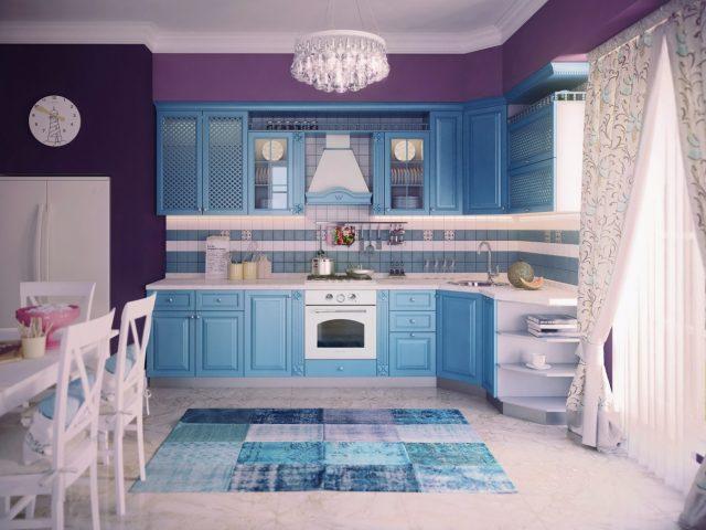 Кухня MILANA из массива ясеня в классическом стиле