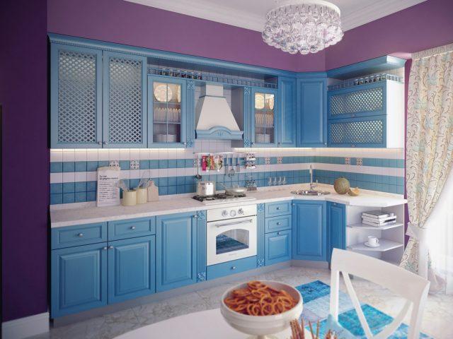 Кухня MILANA из массива ясеня в Неоклассическом стиле