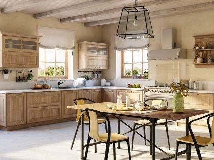Кухня Astra snou oak
