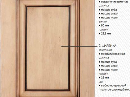 Кухня в стиле классика из массива дереваBuona Sera Флоренция