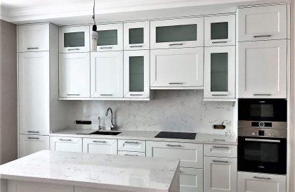 Классическая кухня Сплит из МДФ