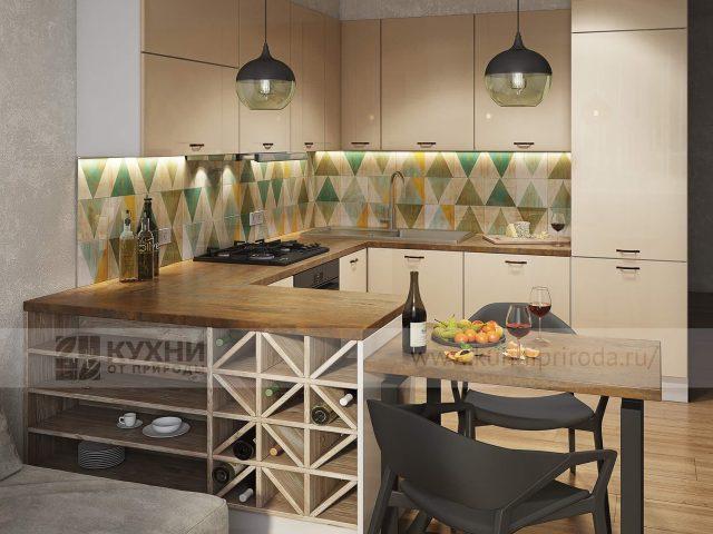 Фото кухни из МДФ Alva в современном стиле