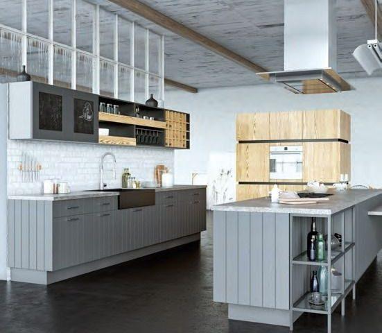 Кухня Loft Eko