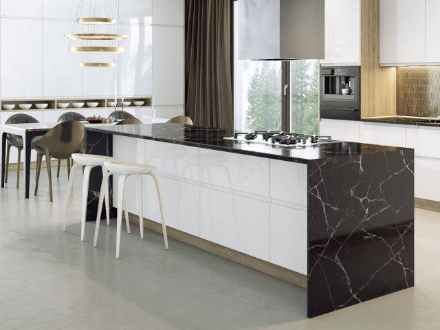 Современная кухня Олимп с фасадами из МДФ