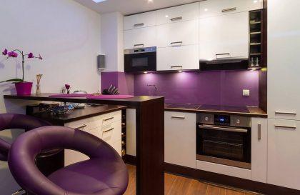 Кухня ALVA с фасадами из МДФ Эмали