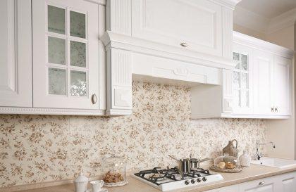 Кухня Симона с фасадами из массива ясеня