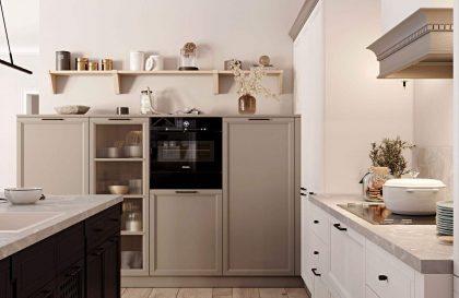 Классическая кухня Орлеанс из массива ясеня