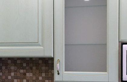 Кухня Вернисаж из шпона