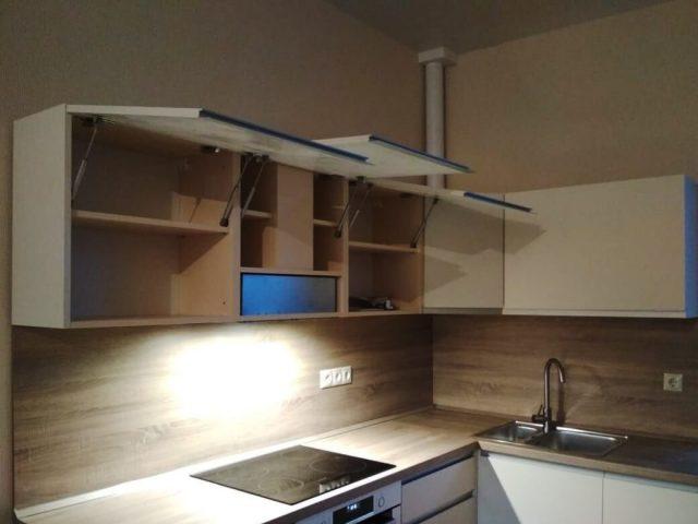 Кухня из МДФ с алюминиевым профилем